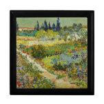 Jardín de Van Gogh en la caja de regalo de Arles