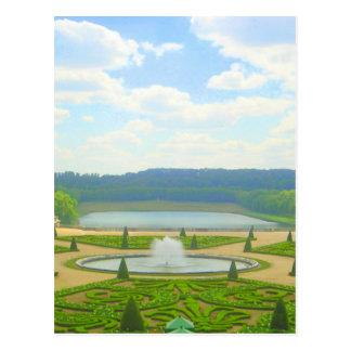 Jardín de Versalles Postales