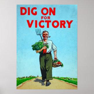 Jardín de victoria poster