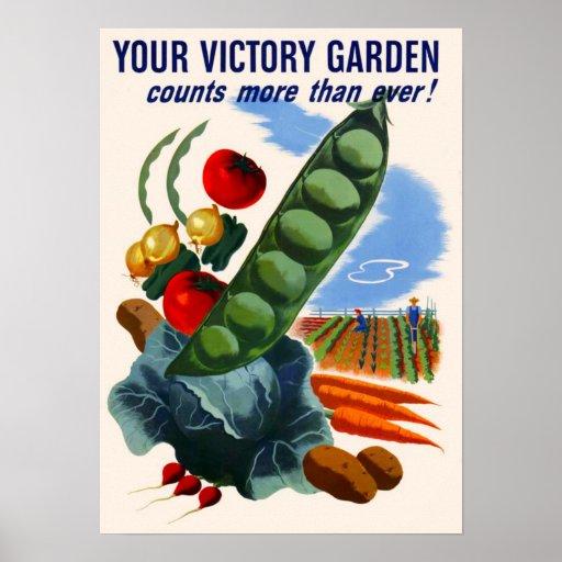 Jardín de victoria impresiones