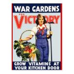 Jardín de victoria tarjetas postales