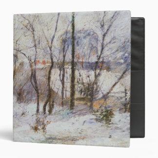 """Jardín debajo de la nieve, 1879 carpeta 1 1/2"""""""