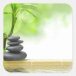 Jardín del agua de la tranquilidad del zen por amo pegatinas