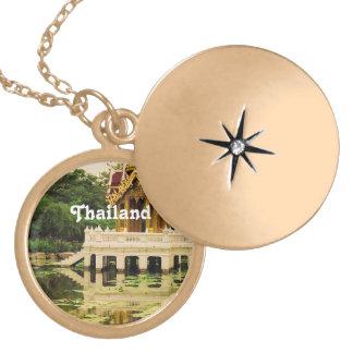Jardín del agua de Tailandia Medallones