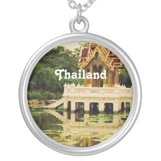 Jardín del agua de Tailandia Pendiente Personalizado