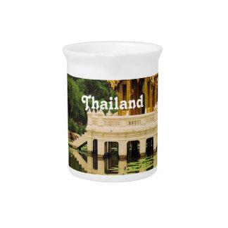 Jardín del agua de Tailandia Jarras Para Bebida