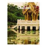 Jardín del agua de Tailandia Postales