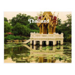Jardín del agua de Tailandia Tarjeta Postal
