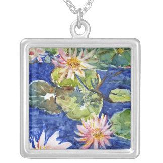 Jardín del agua en acuarela joyerías