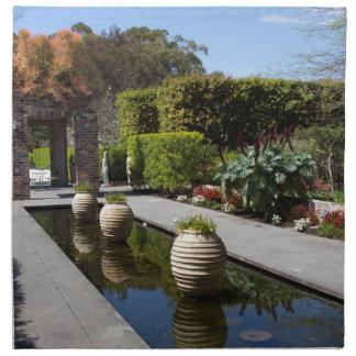 jardín del agua servilletas de papel