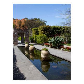 jardín del agua postal