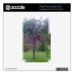 Jardín del árbol calcomanía para iPod touch 4G