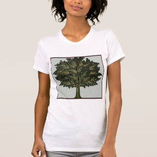 Jardín del árbol camisetas