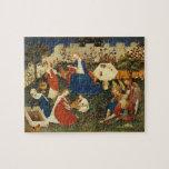 Jardín del arte medieval de Eden Rompecabeza Con Fotos