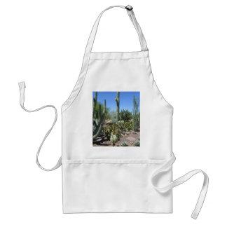 Jardín del cactus de Arizona Delantal