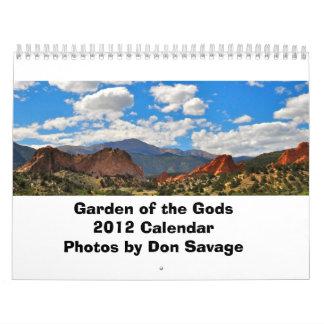 Jardín del calendario de dioses 2012