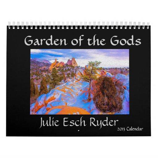 Jardín del calendario de dioses 2013