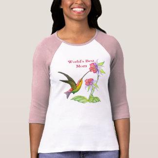 Jardín del colibrí para la mamá playera