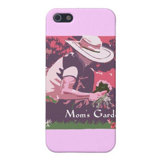 Jardín del día de madre iPhone 5 carcasa