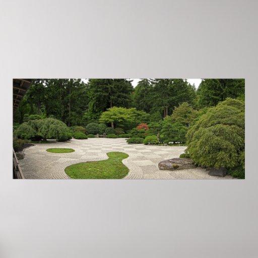 Jardín del estilo japonés - Portland Oregon Impresiones