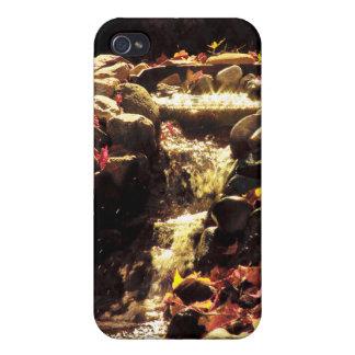 Jardín del follaje de la cascada iPhone 4/4S carcasas