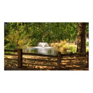 Jardín del fuerte de Sutter Tarjetas De Visita