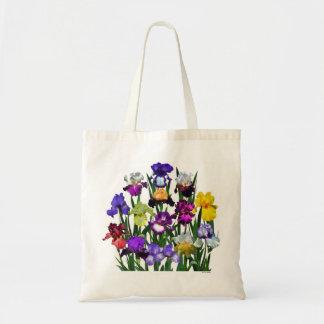 Jardín del iris bolsa tela barata