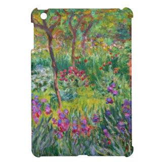 Jardín del iris de Monet en caso del iPad de Giver