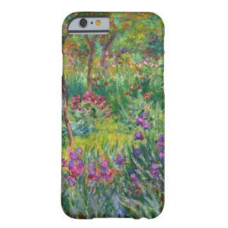 Jardín del iris de Monet en el caso del iPhone 6 Funda De iPhone 6 Barely There