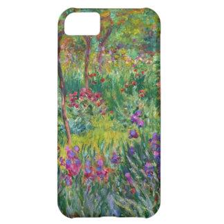 Jardín del iris de Monet en el caso del iPhone de