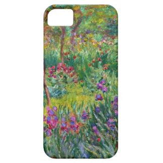 Jardín del iris de Monet en el caso del iPhone de  iPhone 5 Case-Mate Cárcasas