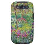 Jardín del iris de Monet en la caja de la galaxia  Galaxy SIII Funda