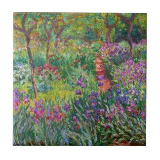 Jardín del iris de Monet en la teja de Giverny