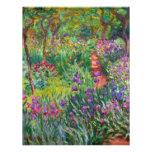 Jardín del iris de Monet en las invitaciones de Gi Comunicado Personal