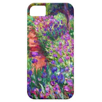 Jardín del iris en Giverny iPhone 5 Case-Mate Protectores