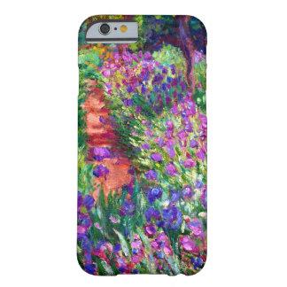 Jardín del iris en Giverny Funda De iPhone 6 Barely There