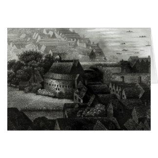 Jardín del oso, 1647 tarjeta de felicitación