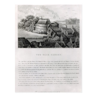 Jardín del oso, 1647 postal