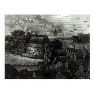 Jardín del oso, 1647 tarjeta postal