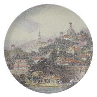 Jardín del palacio imperial, Pekín, de 'China Plato De Cena