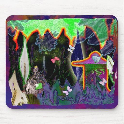 jardín del spatiphilum alfombrillas de ratón