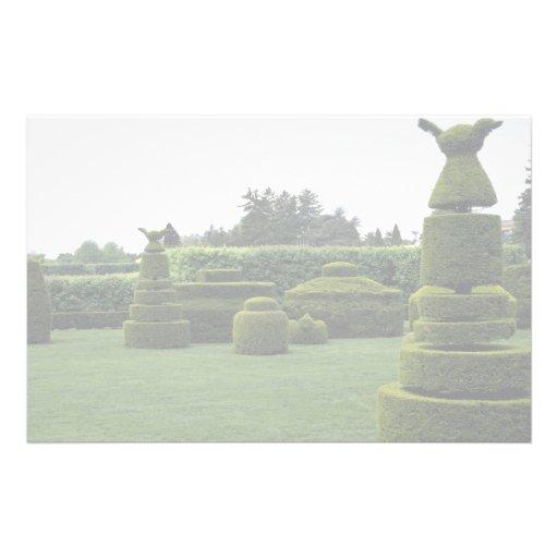 Jardín del Topiary, jardines de Longwood, Pennsylv Papeleria De Diseño
