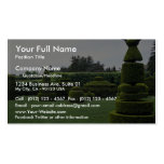 Jardín del Topiary, jardines de Longwood, Pennsylv Tarjeta De Visita