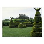 Jardín del Topiary, jardines de Longwood, Pennsylv Postales