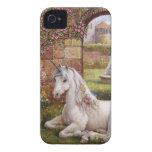 Jardín del unicornio Case-Mate iPhone 4 cárcasas