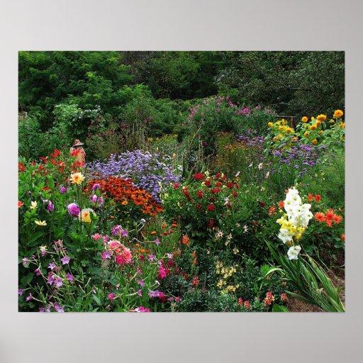 Jardín del verano poster