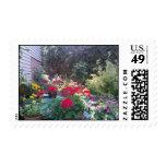 Jardín del verano sello