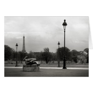 Jardin des Tuileries Card