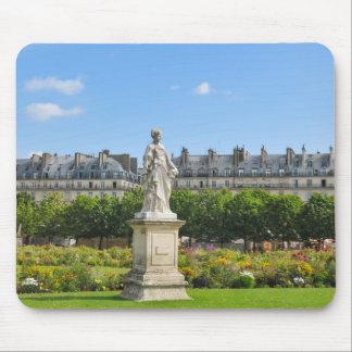 Jardin des Tuileries in Paris, France Mouse Pad