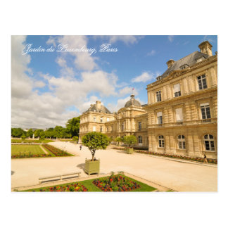Jardin du Luxembourg in Paris Postcard